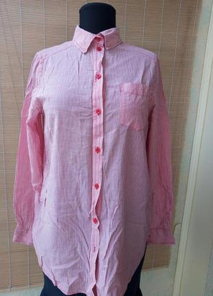 Тоненькая марлевка рубашка от h&m