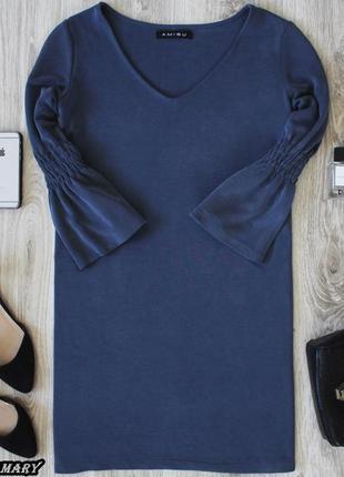 Платье с широкими манжетами  amisu