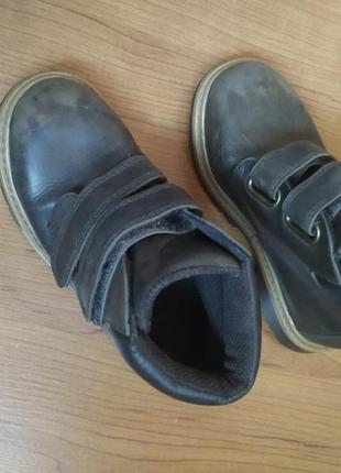 Осенние ботинки(кожа)