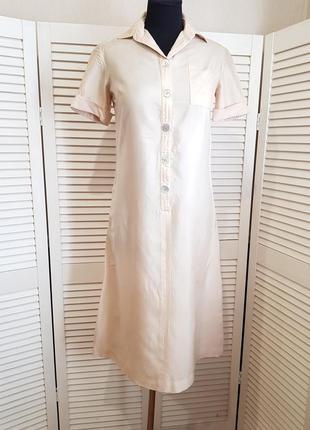 Шелковое платье claudio berruti