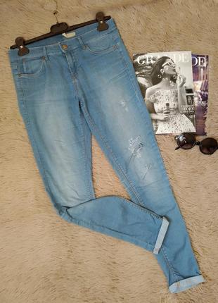 Классные светлые джеггинсы/летние джинсы/штаны/брюки