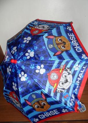 Зонт для мальчика щенячий патруль дисней
