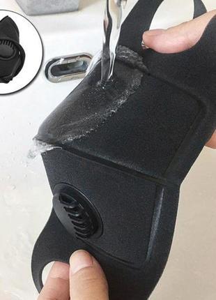 Защитная клапан маска фильтр угольный2 фото