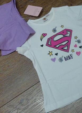 Красивая пижама superwoman на 1-2 года