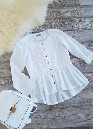 Хлопковая блуза для девочки от next