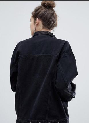Джинсовый пиджак оверсайз monki