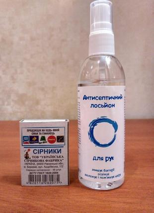 Спиртовой антисептик для рук с распылителем 90мл. (карманный дезинфектор, санитайзер).
