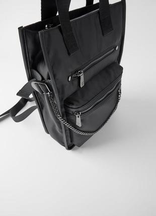 Городской рюкзак -сумка zara