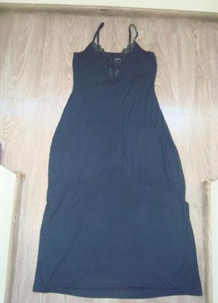 Tcm by tchibo essentials-32-34р.-ночное миди платье