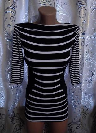 Полосатое платье для девочки jane norman