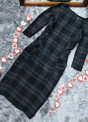 #розвантажуюсь платье футляр с трендовым принтом клетка phase eight