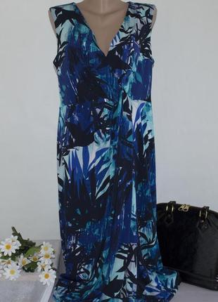 Брендовое макси платье planet румыния этикетка
