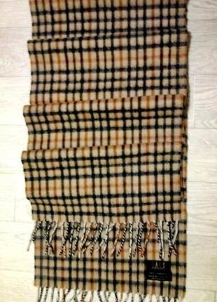 Оригинал шерстяной шарф daks