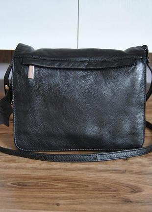 Кожаная сумка мессенджер кроссбоди / шкіряна сумка