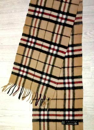 Крутой шерстяной шарф в стиле  burberry frangi