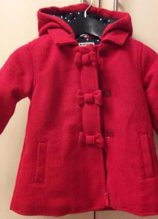 Детское демисезонное пальто