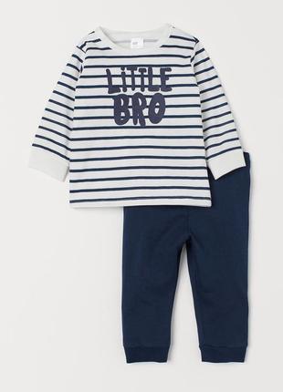 Пижама h&m на 2-3 года (92-98см)