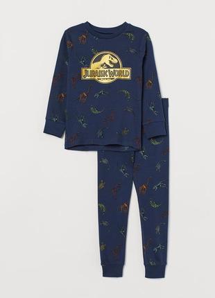 Пижама h&m на 2-4 года (92-104см)