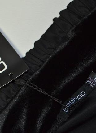 Роскошная облегающая велюровая юбка миди4 фото