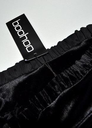 Роскошная облегающая велюровая юбка миди6 фото