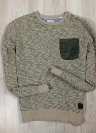 F8 свитер anerkjendt оливковая свитшот толстовка кофта худи зеленая хаки