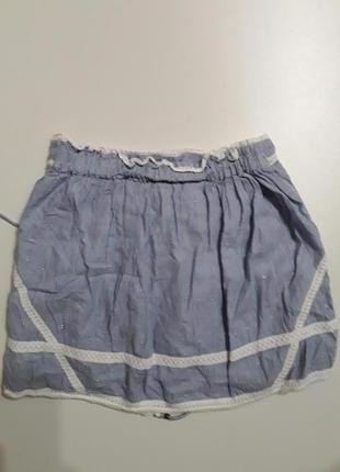Фирменная легкая хлопковая юбка2 фото