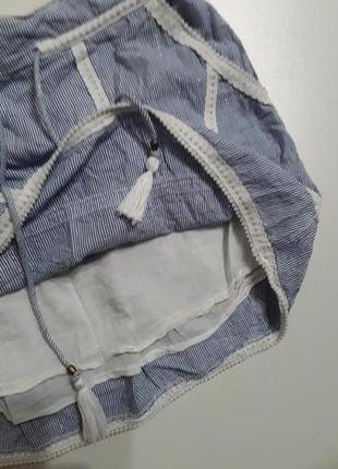 Фирменная легкая хлопковая юбка5 фото