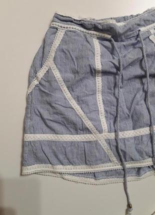 Фирменная легкая хлопковая юбка6 фото
