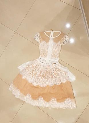 Шикарное пышное платье на выпускной, вечернее платье