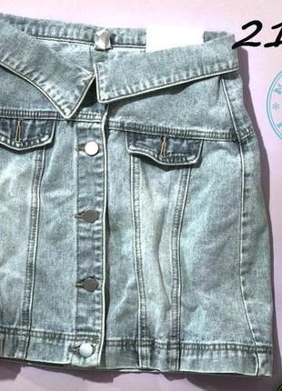 Стильная джинсовая юбка sale