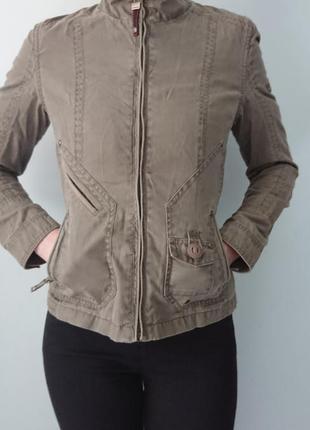 Стильная куртка northland, дорогая фирма, австрия, цвета светло-коричневый р.xs-s