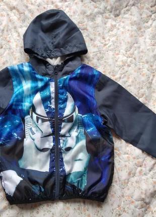 Куртка вітровка disney 8 років 128 см star wars