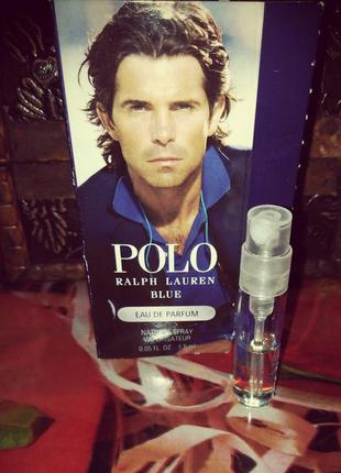 Пробник _ ralph lauren polo blue, 1.5 ml.