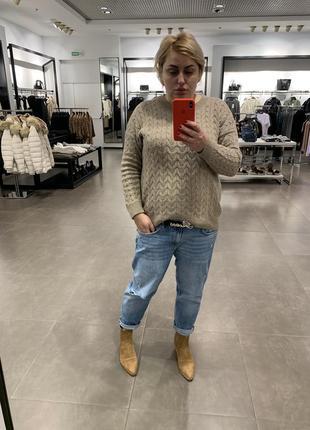 Очень стильные замшевые ботинки zara