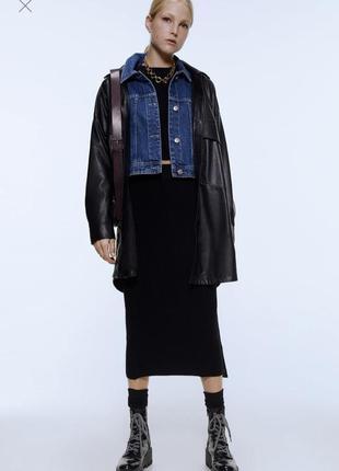💝💝💝стильна джинсова куртка піджак від zara/ xl