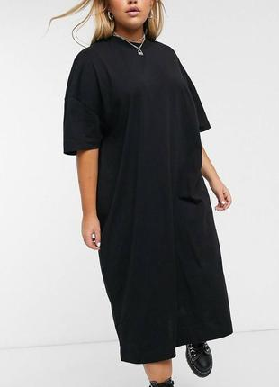 Платье asos большого размера хлопок