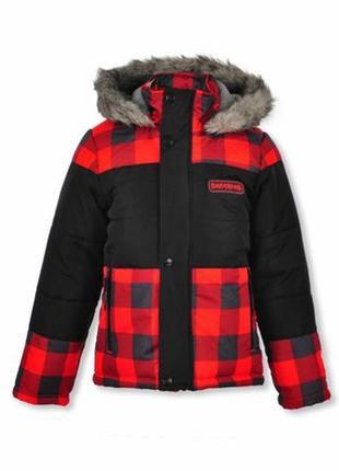 Утепленная зимняя курточка skechers