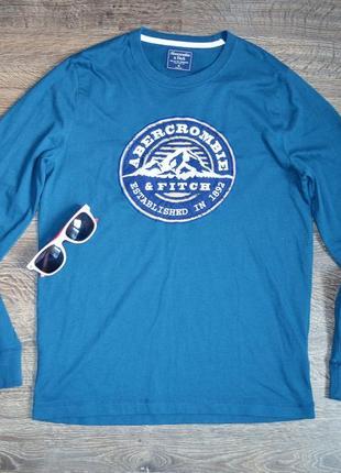 Оригинальная футболка свежие коллекции abercrombie & fitch ®men's long sleeve1 фото
