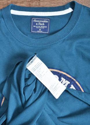 Оригинальная футболка свежие коллекции abercrombie & fitch ®men's long sleeve3 фото