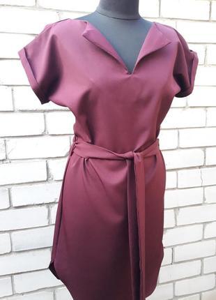 Сукня,плаття нове бордо