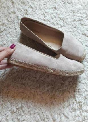 Туфли  эспадрильи