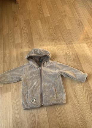 Детская куртка на флисе