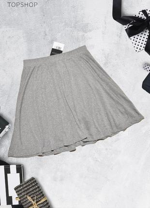 Новая серая юбка topshop