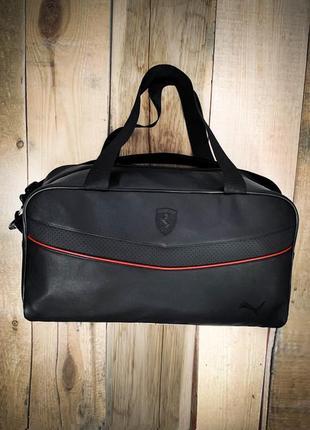 Новая качественная стильная сумка кожа pu / сумка в дорогу / на фитнес