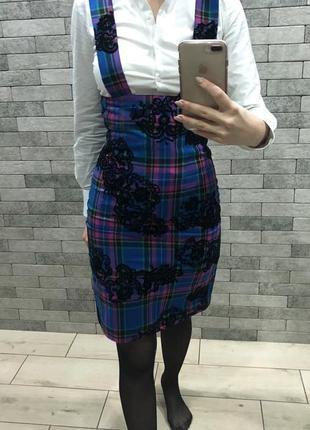Очень красивая юбка на высокой талии