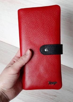 Кошелёк karya 1135 красный