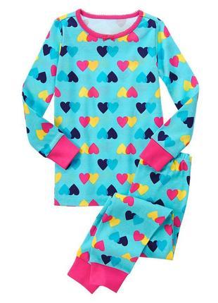 Пижама «сердечки»