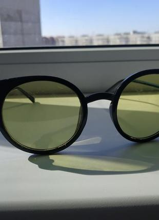 Очки солнцезащитные жёлтые стекла