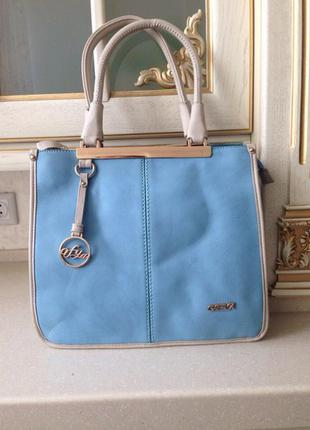 Шикарная сумка, очень модный цвет.. удобная и практичная, пишите.. 290 грн