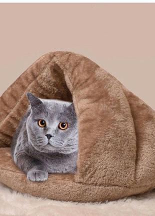 Лежак , домик , кровать для; кота, маленькой собаки, щенка, котенка.